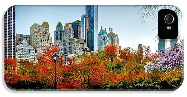 Changing Of The Seasons IPhone 5s Case by Az Jackson