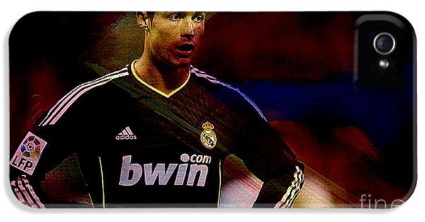 Cristiano Ronaldo IPhone 5s Case by Marvin Blaine