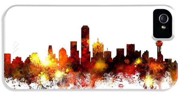 Dallas Texas Skyline IPhone 5s Case