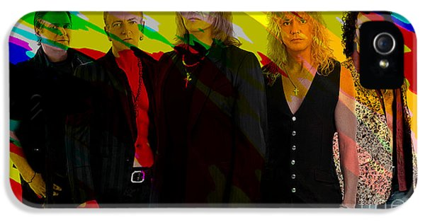 Def Leppard IPhone 5s Case by Marvin Blaine