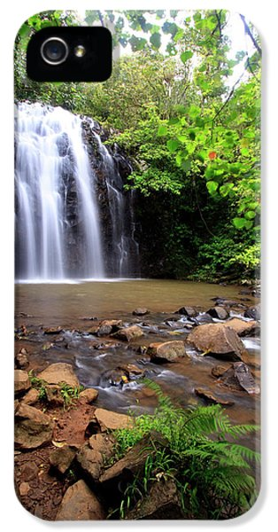 Far North Queensland iPhone 5s Case - Ellinjaa Falls Is One Of Three Scenic by Paul Dymond
