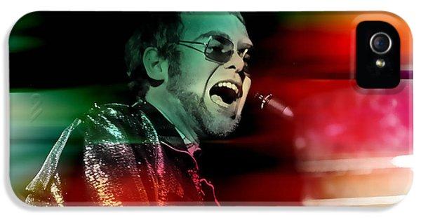 Elton John IPhone 5s Case by Marvin Blaine