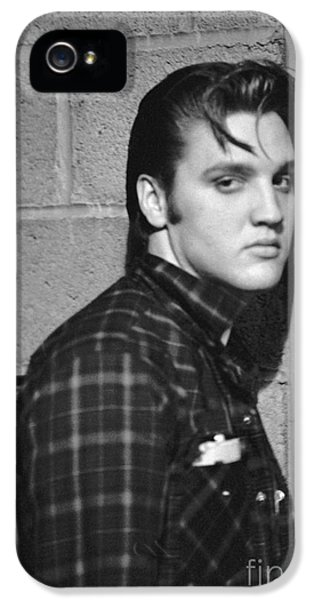 Elvis Presley 1956 IPhone 5s Case by The Harrington Collection