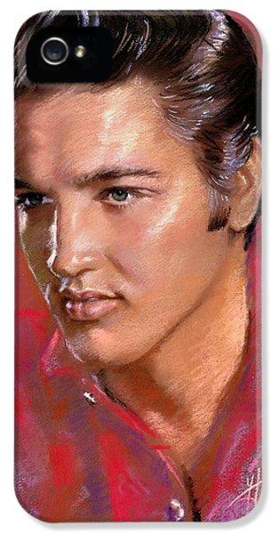 Elvis Presley iPhone 5s Case - Elvis Presley by Viola El