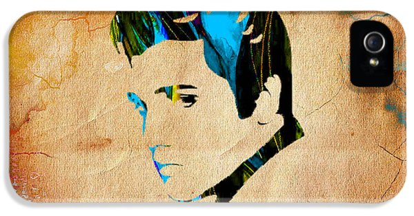 Elvis Presly Wall Art IPhone 5s Case by Marvin Blaine