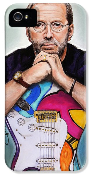 Eric Clapton IPhone 5s Case by Melanie D