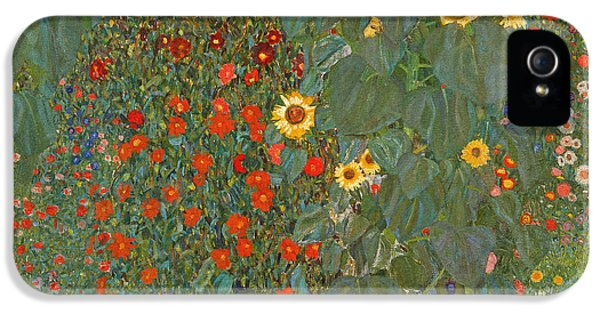 Farm Garden With Sunflowers IPhone 5s Case