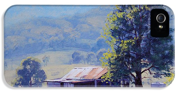 Rural Scenes iPhone 5s Case - Farm Shed by Graham Gercken