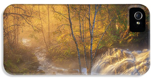 Flow iPhone 5s Case - First Light by Rune Askeland