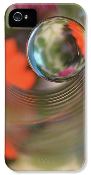 Macro iPhone 5s Case - Floral Sphere by Heidi Westum