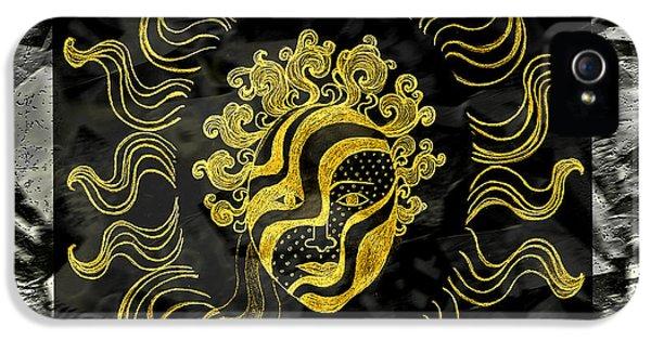 Golden God IPhone 5s Case by Nareeta Martin