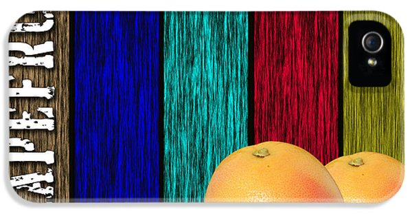 Grapefruit IPhone 5s Case by Marvin Blaine