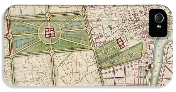 Hyde Park IPhone 5s Case by British Library