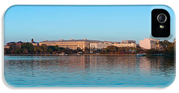 Jefferson Memorial And Washington IPhone 5s Case by Panoramic Images