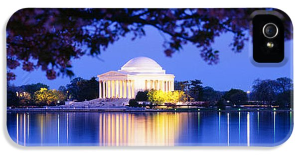 Jefferson Memorial, Washington Dc IPhone 5s Case by Panoramic Images