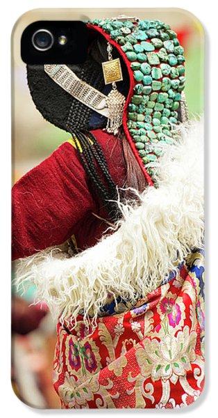 Ladakh, India Married Ladakhi Women IPhone 5s Case by Jaina Mishra