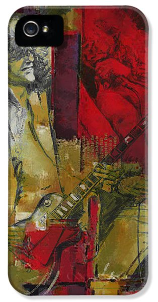 Led Zeppelin  IPhone 5s Case by Corporate Art Task Force