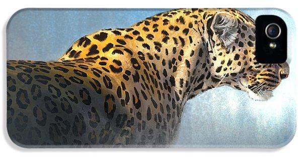 Leopard iPhone 5s Case - Leopard by Aaron Blaise