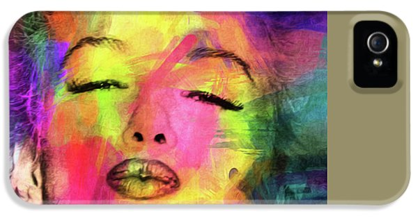 Marilyn Monroe IPhone 5s Case by Mark Ashkenazi