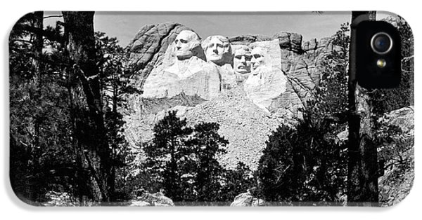 Mount Rushmore In South Dakota IPhone 5s Case by Underwood Archives