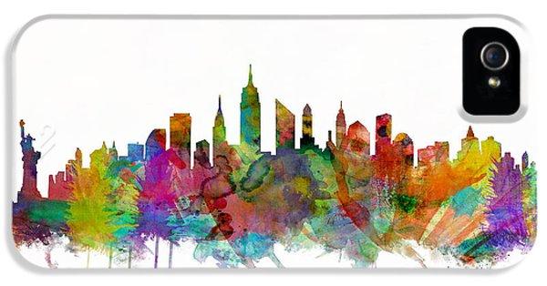 New York City Skyline IPhone 5s Case