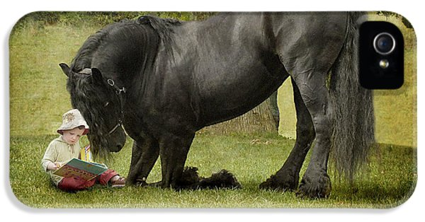 Horse iPhone 5s Case - Once Upon A Time by Fran J Scott