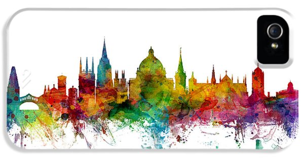 Oxford England Skyline IPhone 5s Case by Michael Tompsett