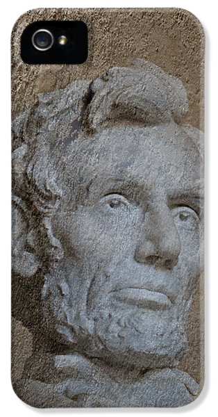 Whitehouse iPhone 5s Case - President Lincoln by Skip Willits