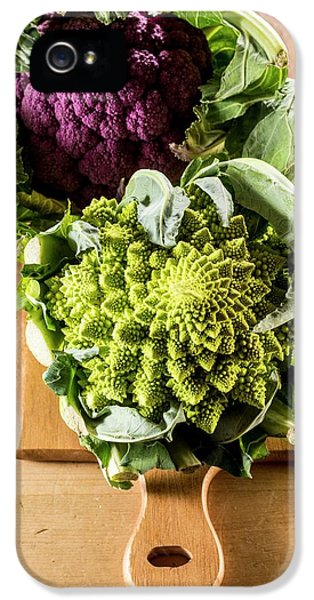 Purple And Romanesque Cauliflowers IPhone 5s Case by Aberration Films Ltd