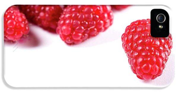 Raspberries IPhone 5s Case by Aberration Films Ltd
