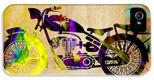 Retro Motorcycle IPhone 5s Case