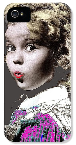 Shirley Temple Publicity Photo Circa 1935-2014 IPhone 5s Case