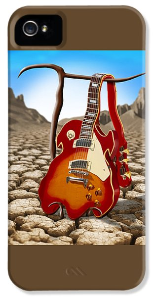 Soft Guitar II IPhone 5s Case by Mike McGlothlen