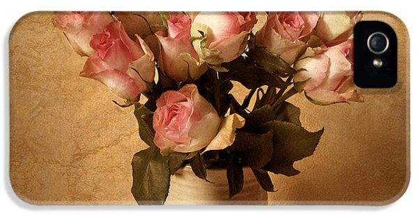 Rose iPhone 5s Case - Soft Spoken by Jessica Jenney