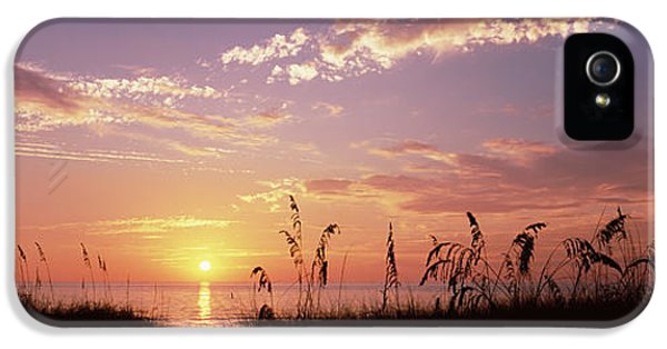 Venice Beach iPhone 5s Case - Sunset Over The Sea, Venice Beach by Panoramic Images