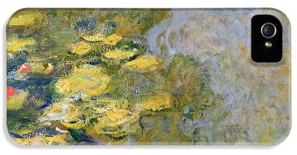 Impressionism iPhone 5s Case - The Waterlily Pond by Claude Monet