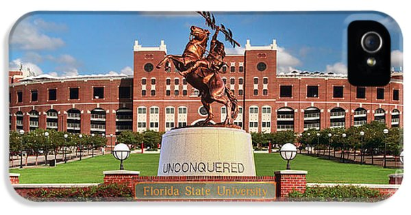 Florida State iPhone 5s Case - Unconquered by John Douglas