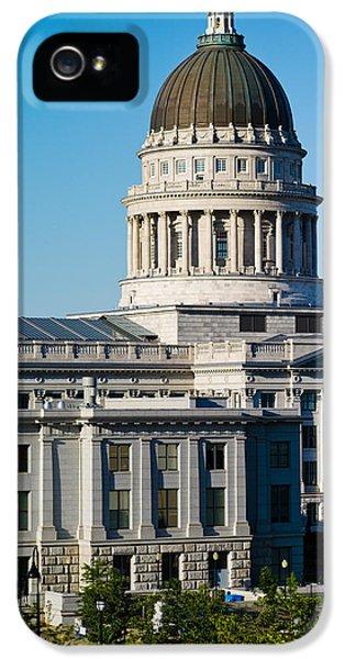 Utah State Capitol Building, Salt Lake IPhone 5s Case by Panoramic Images