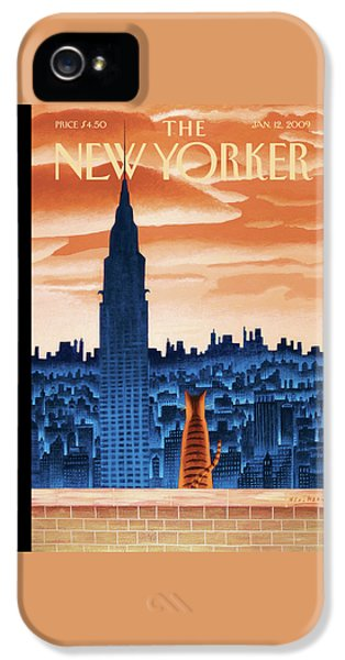 New Yorker January 12th, 2009 IPhone 5s Case