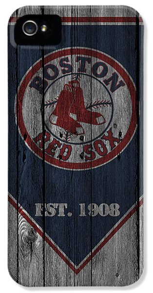 Boston Red Sox IPhone 5s Case by Joe Hamilton