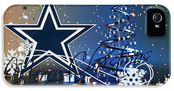 Dallas Cowboys IPhone 5s Case by Joe Hamilton