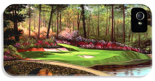 12th Hole At Augusta  IPhone 5s Case by Tim Gilliland