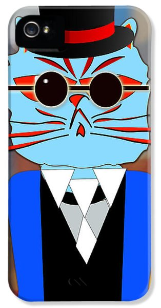 Cool Cat IPhone 5s Case