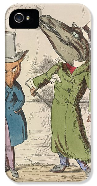 Crocodile iPhone 5s Case - Aesop Fables by British Library