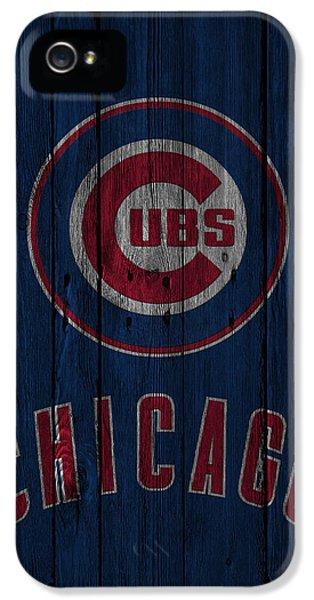 Professional Baseball Teams iPhone 5s Case - Chicago Cubs by Joe Hamilton