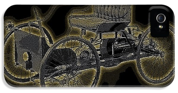 1896 Quadricycle Henry Fords First Car IPhone 5s Case by Marvin Blaine