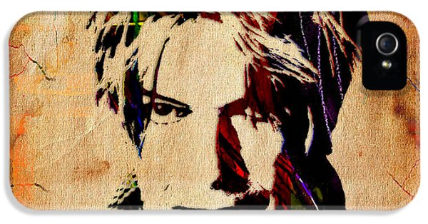 David Bowie Collection IPhone 5s Case by Marvin Blaine