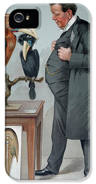 Hornbill iPhone 5s Case - 1905 Edwin Ray Lankester Zoologist by Paul D Stewart