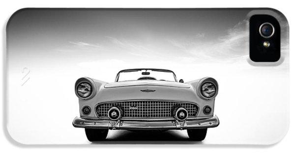 Car iPhone 5s Case - 1956 Thunderbird by Douglas Pittman