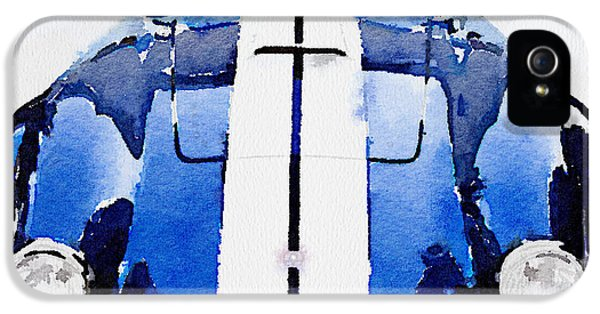 1962 Ac Cobra Shelby Watercolor IPhone 5s Case